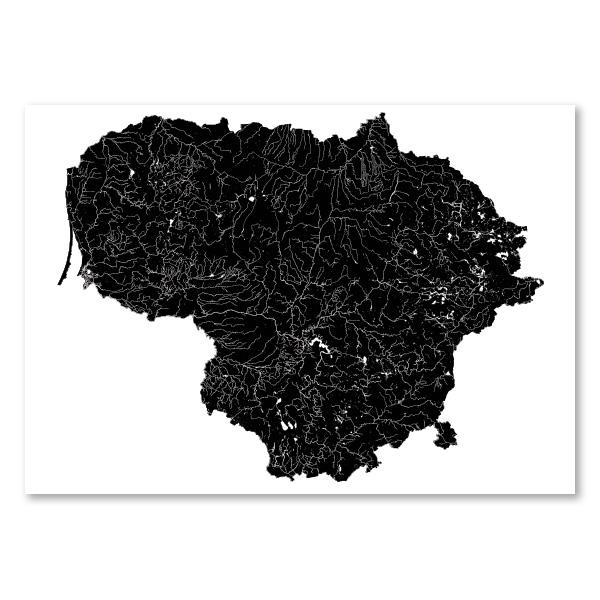 Lietuvos vandenys (juodas)